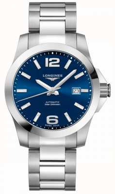 Longines Men's | Sport Conquest | Blue Dial | Stainless Steel L37774996