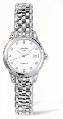Longines Flagship | Silver Strap | White Face | L42744276