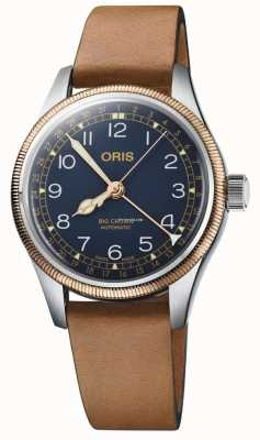 ORIS | Big Crown Pointer Date | Brown Leather | Blue Dial 01 754 7741 4365-07 5 20 58