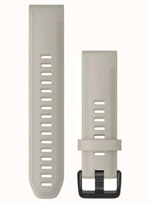 Garmin QuickFit 20 Watch Strap Only, Light Sand Silicone 010-12869-00