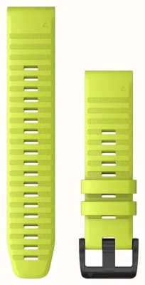 Garmin QuickFit 22 Watch Strap Only, Amp Yellow Silicone 010-12863-04