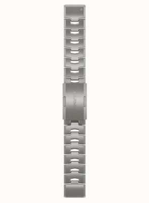 Garmin QuickFit 22 Watch Strap Only, Vented Titanium Bracelet 010-12863-08