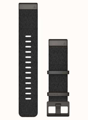 Garmin QuickFit 22 MARQ Strap Only Black Jacquard-weave Strap 010-12738-03