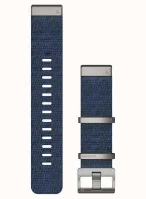 Garmin QuickFit 22 MARQ Strap Only, Nylon Strap - Indigo 010-12738-02