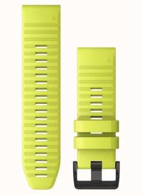 Garmin QuickFit 26 Watch Strap Only, Amp Yellow Silicone 010-12864-04