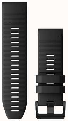 Garmin QuickFit 26 Watch Strap Only, Black Silicone 010-12864-00