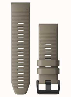 Garmin QuickFit 26 Watch Strap Only, Dark Sandstone Silicone 010-12864-02