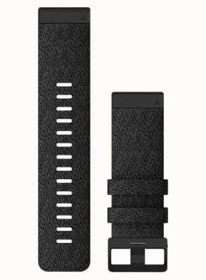 Garmin QuickFit 26 Watch Strap Only, Heathered Black Nylon 010-12864-07