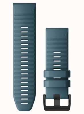 Garmin QuickFit 26 Watch Strap Only, Lakeside Blue Silicone 010-12864-03