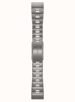 Garmin QuickFit 26 Watch Strap Only, Vented Titanium Bracelet 010-12864-08