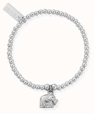 ChloBo Childrens Cute Elephant Charm Bracelet CSBCC405