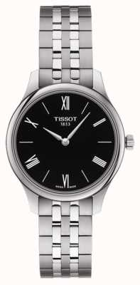 Tissot | Women's Tradition | Stainless Steel Bracelet | Black Dial T0632091105800