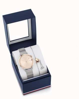 Tommy Hilfiger Women's Pippa Watch And Bracelet Gift Set 2770053