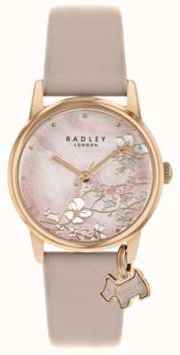 Radley Botanical Floral | Nude Leather Strap | Pink Floral Dial | RY2884
