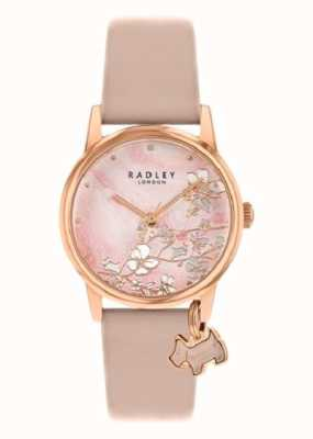 Radley Botanical Floral | Nude Leather Strap | Pink Floral Dial | RY2884