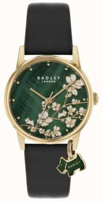 Radley Botanical Floral | Navy Leather Strap | Green Floral Dial | RY2882