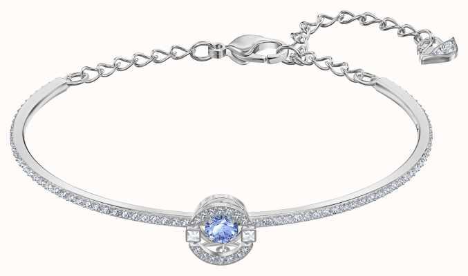 Swarovski Sparkling Dance |Rhodium plated |Blue |Bangle 5515385