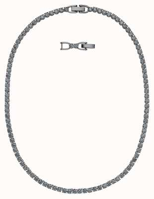 Swarovski Tennis | Ruthenium Plated |Black | Deluxe | Necklace 5517113