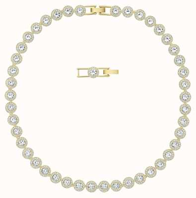 Swarovski Angelic |Gold Tone Plated | White | Necklace 5505468