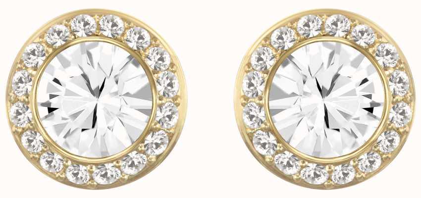 Swarovski Angelic | Gold-Tone plated |White | Stud Earrings 5505470