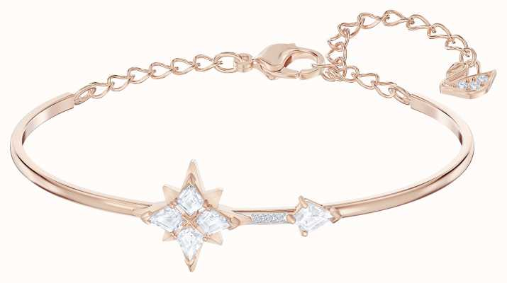 Swarovski Symbolic | Rose-Gold Plated | White | Star |Bangle 5494338