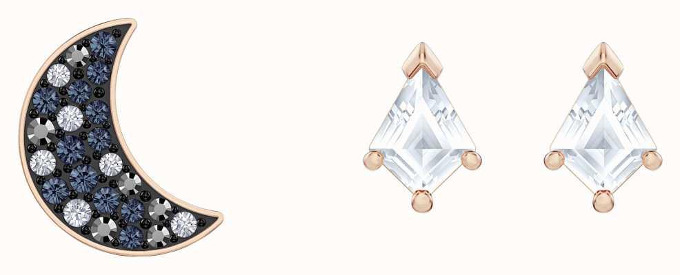 Swarovski Symbolioc | Rose-Gold plated | Multi-Coloured |Earring Set 5494353