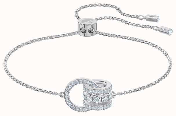 Swarovski Further | Bracelet | Rhodium Plated | White 5498999