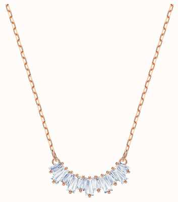 Swarovski Sunshine | Rose Gold Plated Necklace | White 5459590