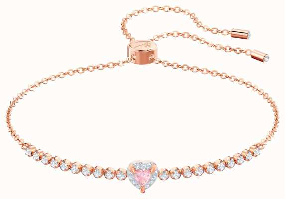 Swarovski One | Rose Gold Plated Bracelet | Multi-Coloured | 5446299