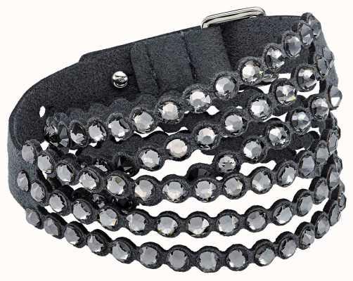 Swarovski Power Collection | Slake Bracelet | Fabric | Grey 5512509