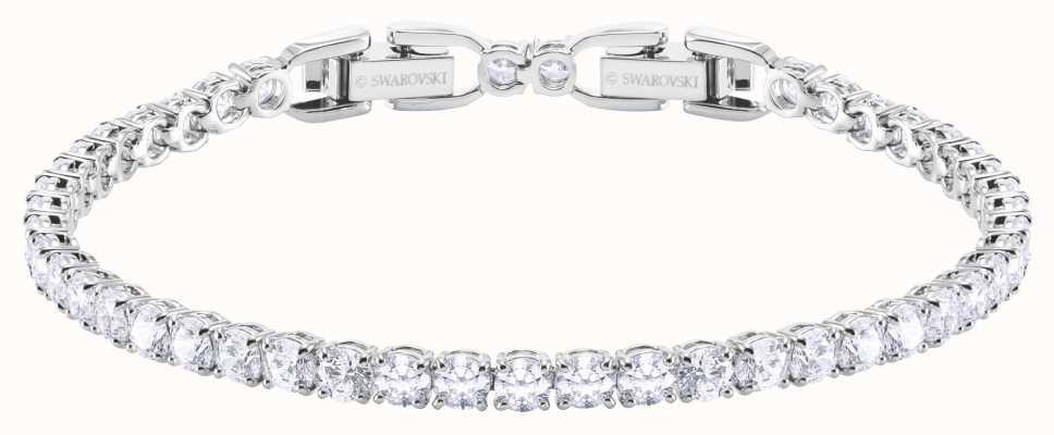 Swarovski Tennis | Deluxe Bracelet | Rhodium Plated | White 5409771