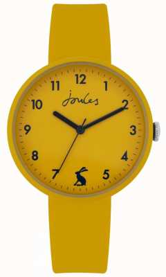 Joules | Coast | Mustard Silicone Strap | Mustard Dial | JSL020Y