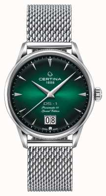 Certina DS-1 Special Edition Big Date | Powermatic 80 | Silver Mesh C0294261109160