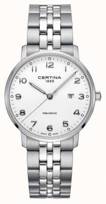 Certina | DS Caimano | Stainless Steel Silver Bracelet | White Dial C0354101101200