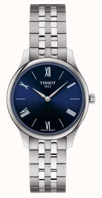 Tissot | Tradition | Women's Stainless Steel Bracelet | Blue Dial | T0632091104800