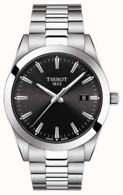 Tissot | Gentleman | Stainless Steel Bracelet | Black Dial | T1274101105100