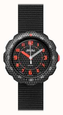 Flik Flak | Night Shift | Black Fabric Strap | Black Dial | FPSP032
