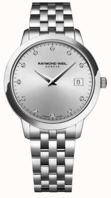 Raymond Weil Womens | Toccata | Diamond | Silver Dial 5388-ST-65081