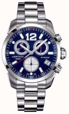 Certina DS Rookie | Chronograph | Blue Dial | Stainless Steel C0164171104700