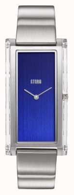 STORM | Plexia Blue | Stainless Steel Bracelet | Blue Dial | 47450/B