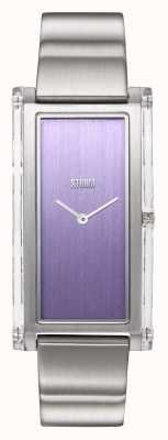 STORM | Plexia Violet | Stainless Steel Bracelet | Violet Dial | 47450/V