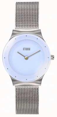 STORM | Mini Terelo Lazer Ice Blue | Steel Mesh Bracelet | 47452/IB