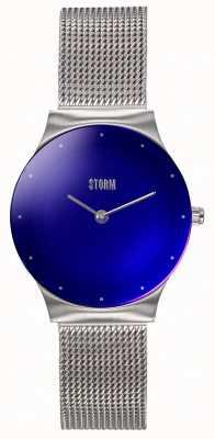 STORM | Mini Terelo Lazer Blue | Steel Mesh Bracelet | 47452/LB