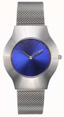 STORM | New Ion Mesh Blue | Silver Mesh Bracelet | Blue Dial | 47453/B