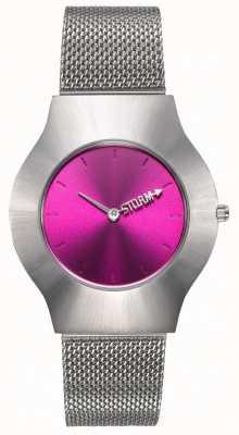 STORM | New Ion Mesh Purple | Silver Mesh Bracelet | Purple Dial | 47453/P