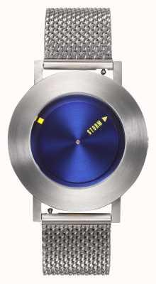 STORM | Revon Blue | Silver Mesh Bracelet | Blue Dial | 47454/B