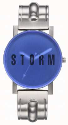 STORM | New Blast Blue | Stainless Steel Bracelet | Blue Dial | 47455/B