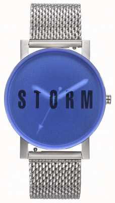 STORM | New Blast Mesh Blue | Steel Mesh Bracelet | Blue Dial | 47456/B