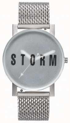 STORM | New Blast Mesh Green | Silver Mesh Bracelet | Green Dial | 47456/G