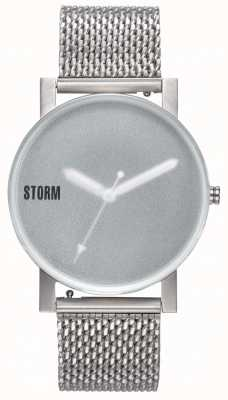 STORM | New Blast V2 Mesh Green | Silver Mesh Bracelet |Green Dial 47457/G